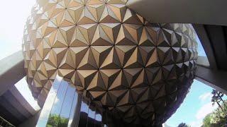 Spaceship Earth Full Ride POV - Epcot - Walt Disney World, Florida