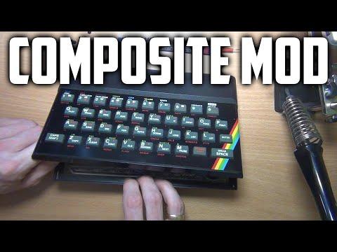 Sinclair ZX Spectrum 48k Composite Mod (EASY!)
