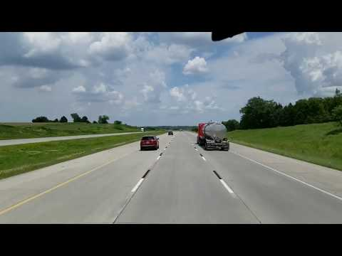My GPS Told Me to Turn There.. Cruising Through Nebraska.. The Nerve of Some People!!