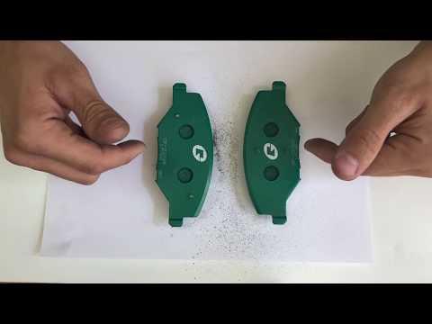 Как проверить тормозные колодки на качество