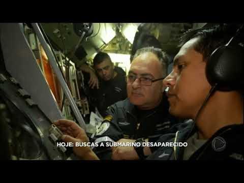 Autoridades Argentinas Suspendem Buscas Pelo Submarino Desaparecido