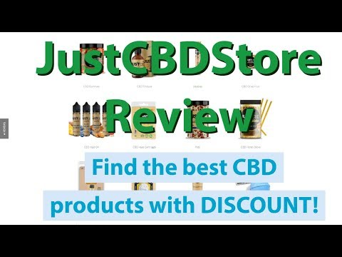 Just CBD Store Review | The best CBD products with LAB REPORTS thumbnail