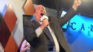 Paul Heyman Sings Glory Glory Brock Lesnar At Caroline