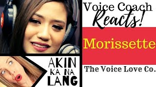 Voice Coach Reacts | Morissette Amon | Akin Ka Na Lang | Wish Bus 1075
