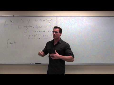 Calculus 2 Lecture 9.3:  Using the Integral Test for Convergence/Divergence of Series, P-Series