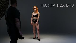 Nakita Fox - Elinchrom ELC Studio Shoot - Behind The Scenes