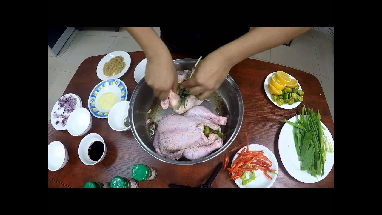 how to cook chicken pieces in a convection oven