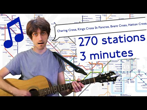Jay Foreman - Every Tube Station Song
