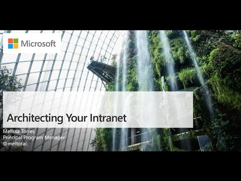 Architecting Your Intranet