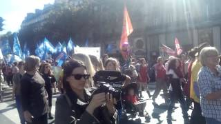 www.animalisti.it - 27 settembre 2014 Parigi_Tous Vivants, Tous Sensibles!