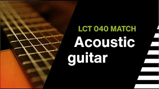 LCT 040 MATCH // LEWITT Sound Sample // Acoustic Guitar