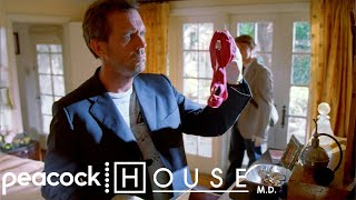 House Breaks Into Cuddy's Home | House M.D.