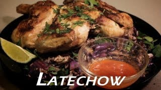 Brick Chicken With Cabbage Fried Rice - Latechow: Episode 2