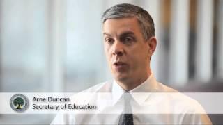 Secretary Arne Duncan Talks About Early Learning