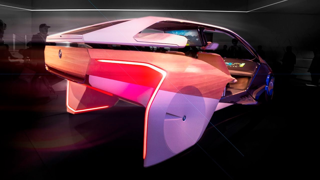 inside the future of cars bmw ces 2017 youtube