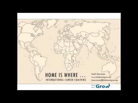 Home is where … International Career Coaching