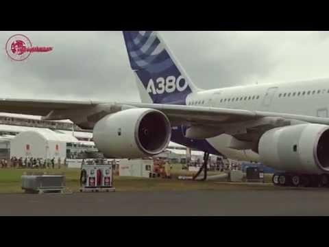 Farnborough Airshow 2014 - Airbus A380
