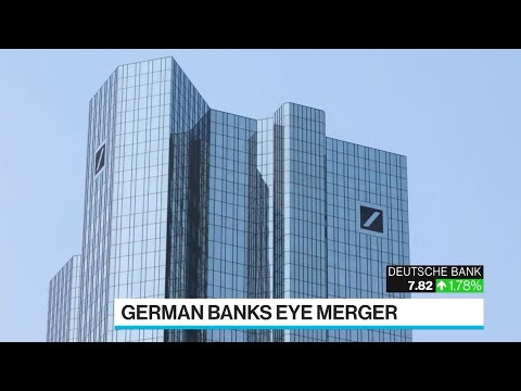 Deutsche Bank-Commerzbank Edge Closer to Merger of Shrinking Banks