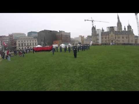 Canada Ottawa Battle of the Atlantic Ceremony