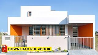 1,650 sq.ft Orange House in Nagpur by Studio Habitect