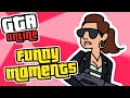 GTA 5 Funny Moments! - Jet Surfing