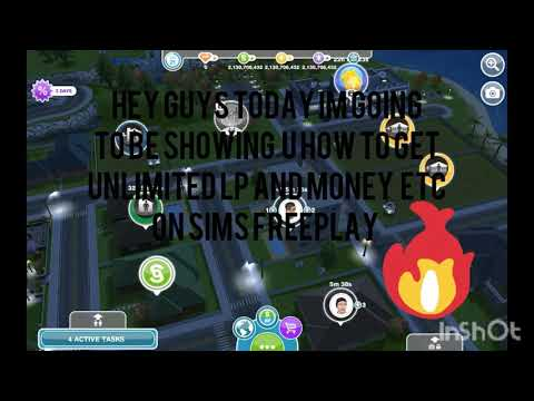 Unlimited Lp And Money Hack (For Sims Freeplay) 2018!!!