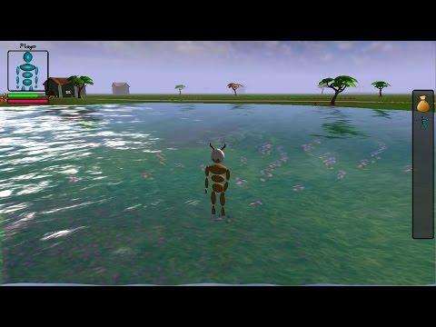 Java 3D Game Development 34: Water!