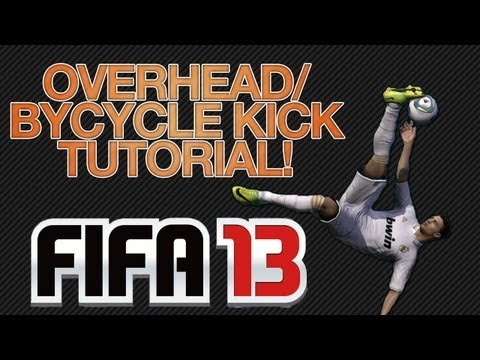Fifa 13 Bicycle / Overhead Kick Tutorial (With Gameplay And Clips)