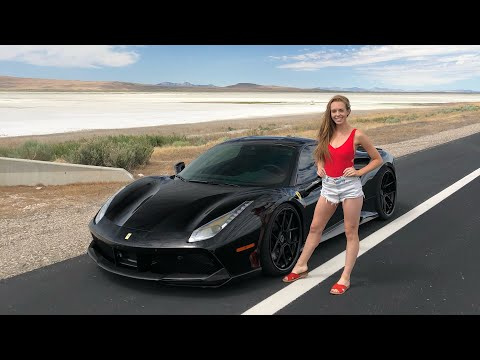 She Chose the 750HP Ferrari 488 GTB