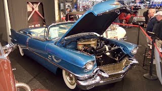 1956 Cadillac Eldorado Biarritz Convertible sells for $275,000 at Barrett Jackson.