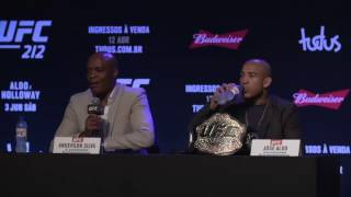 UFC 212 Press Conference