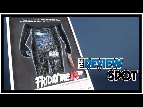 Throwback  McFarlane Toys Pop Culture Masterworks Friday the 13th 3D Poster