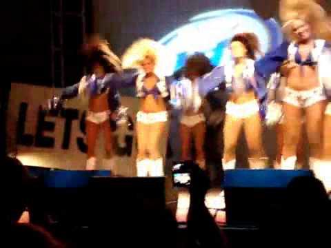 Dallas Cowboys Cheerleaders 2009 Training Camp - YouTube a00a1ffb1