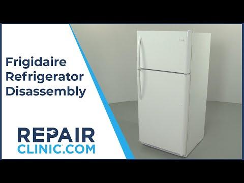Frigidaire Refrigerator Disassembly (Model FFTR1814TW8) – Repair Help