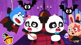 Baby Panda's Halloween Night | Halloween Cartoon | Halloween Makeup | Halloween Songs | BabyBus