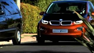 видео Первый Тест BMW i3 2013 в Калифорнии На Фото Электромобиль БМВ Концепт