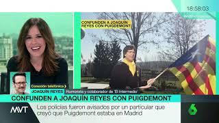 Joaquín Reyes comenta a Más Vale Tarde su incidente con la Policía Nacional disfrazado de Puigdemont