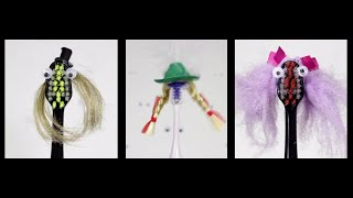 Zelda Theme on 3 Electric Toothbrushes with Hats and Wigs