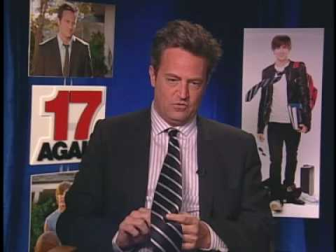 "Matthew Perry Interview with Leslie Mann for ""17 Again"""
