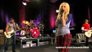 Avril Lavigne - Girlfriend @ Live at Walmart Soundcheck 20/04/2007