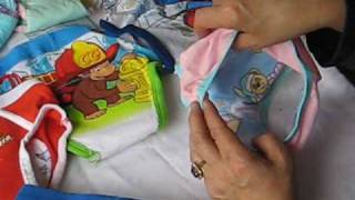Kidalog Step Two Reusable Washable Training Pants for Potty or Toilet Learning