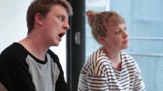 FURY Cast Interviews  - ALEX & SARAH