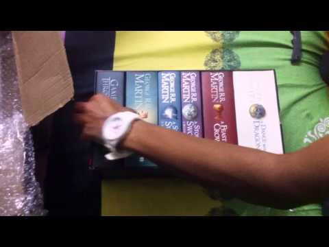 Game of Thrones 6-book Box Set Unboxing | Author: George R. R. Martin