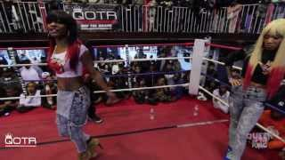 BABS BUNNY & VAGUE present QUEEN OF THE RING DON LADYII vs STAR GIRL LADY RED (FULL BATTLE)