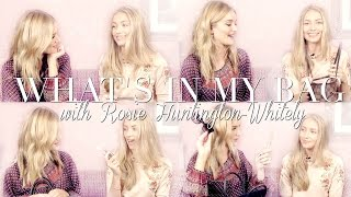 What's In My Bag with Rosie Huntington-Whiteley | Freddy My Love