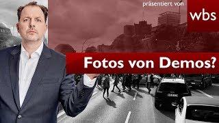 Polizei: Demo-Fotos auf Social Media ok? | Rechtsanwalt Christian Solmecke