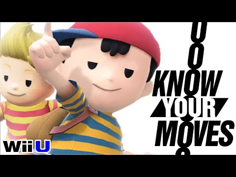 Ness and Lucas: The MOTHERLOAD of Secrets and History - Know Your Moves! (Smash Bros.)