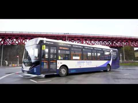 Introducing Our New Fife To Edinburgh Airport JET 747 Buses
