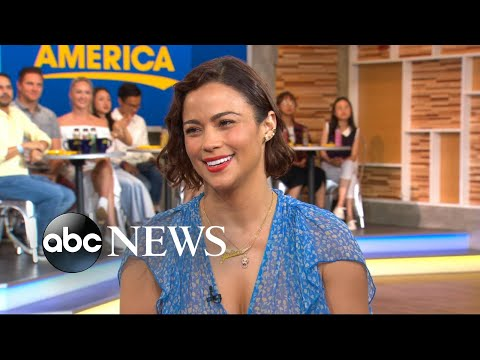 Paula Patton dishes on † Somewhere Between † live on † GMA †