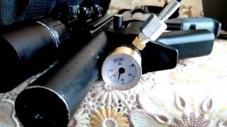 ВЛ-12 заміна манометра RAR на Wila.